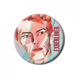 David Bowie button -...