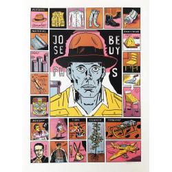 Siebdruck 'Joseph Beuys'...